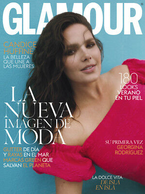 ★ GLAMOUR ESPAÑA Revista Magazine Juny 2018 - Candice Huffine on cover - NEW