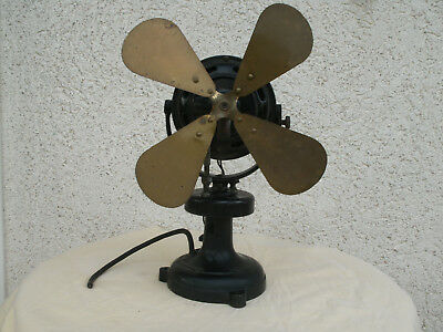 Ancien ventilateur MARELLI, THOMPSON, HOUSTON, ALS-THOM, industriel déco Loft