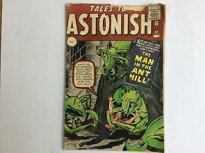 Tales to Astonish 27 Silver age 1st appearance of Ant-Man (Hank Pym)