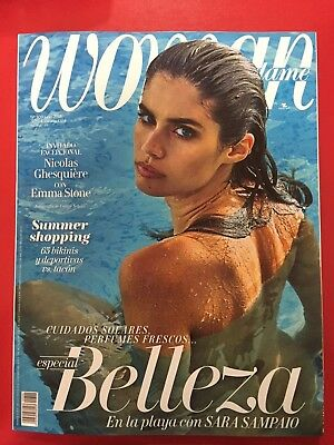★ WOMAN ESPAÑA Revista Magazine Juny 2018 -  Sara Sampaio on cover - NEW