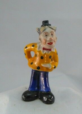 Vintage Made in Occupied Japan Clown Figurine  Lot(523-06)