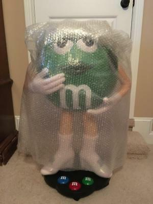 Rare Green M&M Character Candy Store Display NEW IN ORIGINAL BOX! 3FT TALL!