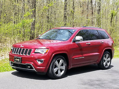 2014 Jeep Grand Cherokee Overland 2014 Jeep Grand Cherokee Overland 4x4 Eco Diesel Panoramic Roof Nav Leather