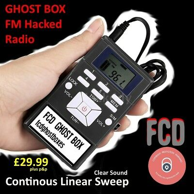 Genuine Ghost Box FM Radio Sweep Franks Spirit Box May Sale