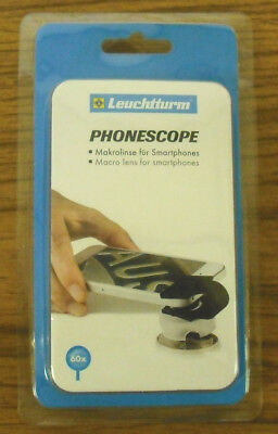 Lighthouse Phonescope - For Smart Phone Up To 60 X  For Coins, Stamps    # Lh-Ps