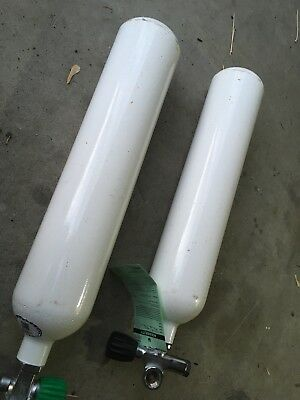 Pair Faber 3 Litre Steel Cylinders