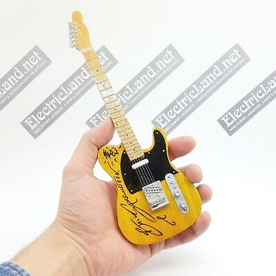 Mini Guitar Bruce Springsteen the BOSS signed telecaster miniature chitarra rock