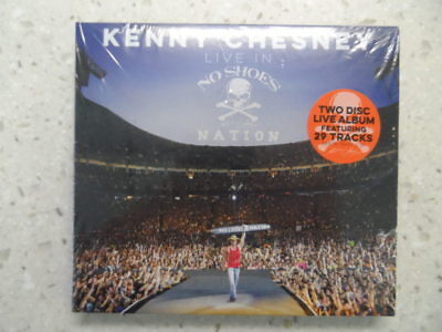 Kenny Chesney Live At No Shoes Nation Cd Factory Sealed Mint Awesome Buy It Now