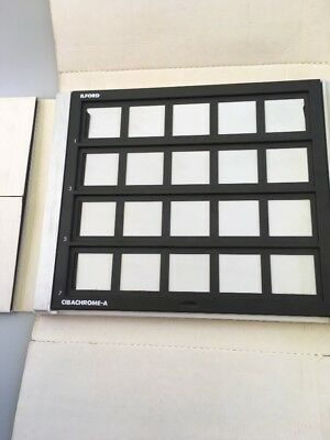 Ilford Cibachrome-A Easel with Inserts for Photo Darkroom Printing - USED
