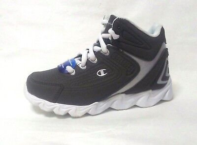 Champion Boy's High Top Overtime Basketball Shoes Sneakers size 12, 13 Gray