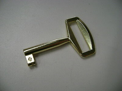 Replacement Key for Horn Sewing Cabinets. Gold Colour.