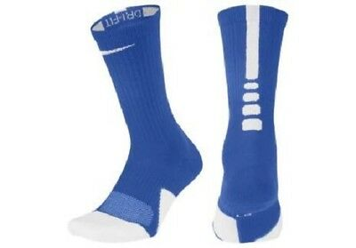 low priced aee12 1aa91 Nike ELITE 1.5 CUSHIONED CREW TEAM Basketball Socks SX7035-463 Size L (8-