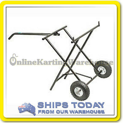 GO KART TROLLEY FOLD AWAY DESIGN KARTELLI CORSE - NEW MODEL - Solid TYRES