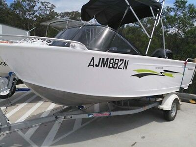 2017 Brooker 510 Runabout with 80hp Mercury 4 stroke