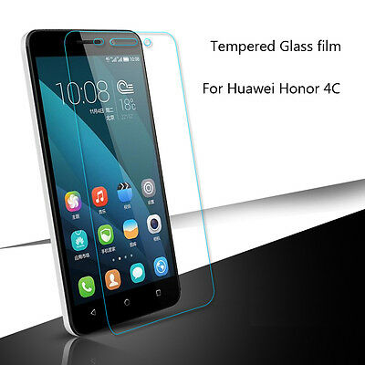 Tempered Glass 9H Hardness for Huawei Honor 4C Screen Protector Phone Curve Edge