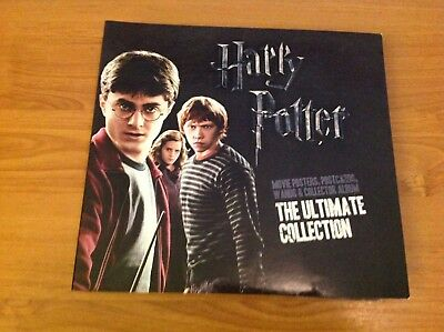 Harry Potter The Ultimate Collection Movie Posters,Wands,postcard & album