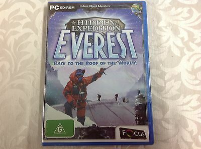 Hidden Expedition-Everest-Race to the roof of the world-PC Game-NIB