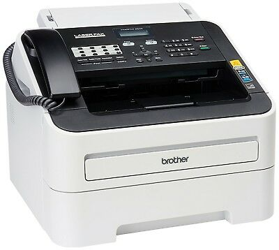 Brother IntelliFAX 2840 High Speed Monochrome Laser Fax Machine Tested 217 Pages