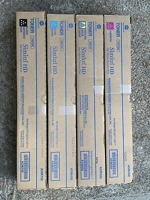 12 Konica Minolta TN321 TN216 TN512Toner Cartridges Yellow Cyan Magenta Black