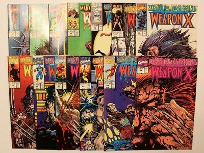 Marvel Comics Presents # 72- 84  Wolverine Weapon X Complete Run