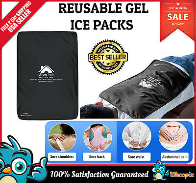 X Large Hot and Cold Therapy Pad Reusable Gel Ice Pack Pain Relief Sports Injury