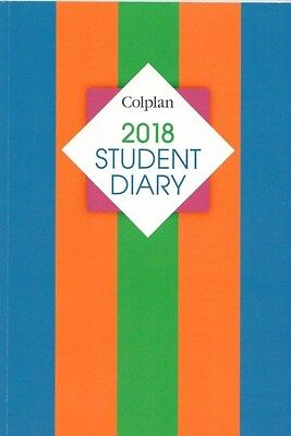 Colplan 2018 Student Diary A5 Week to View SC37 Popular School Booklist Item