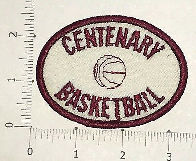 Centenary Basketball Patch  - vintage