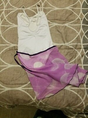 Gorgeous Leotard (Small) and Wrap Skirt(one size)