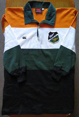 Canterbury ANZAC XV Wallabies & All Blacks Rugby Supporters Jersey Jumper 1989