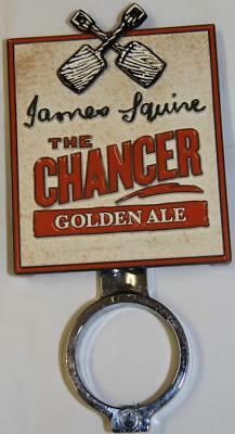 Collectible James Squire The Chancer Golden Ale Double Sided Tap Top  - Exc