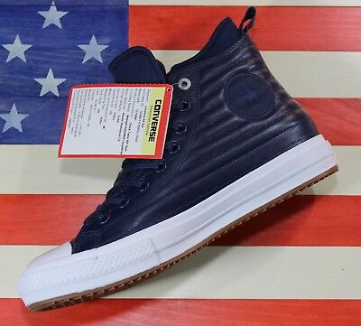 1471b944082c CONVERSE SAMPLE Chuck Taylor ALL-STAR HI Waterproof Boot Quilted Leather  157490C