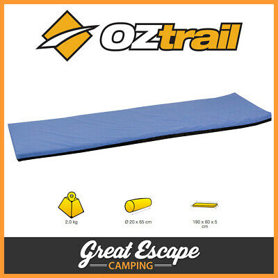 OZtrail Camp Mat 50mm Open Cell Foam Mattress. Camping, Swags, Outdoors