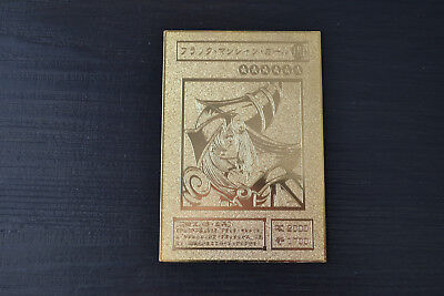 Yugioh Dark Magician Girl Metal Card Collection Golden Card 0.6MM Thickness