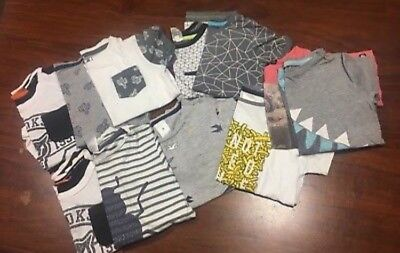 bulk lot of boys size 4 clothing  and shoes  new balance esprit target MYER