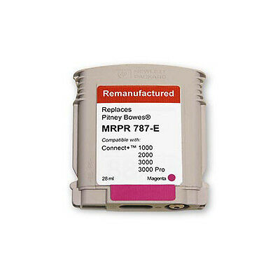787-E Pitney Bowes Connect+ 1000/2000/3000 Postage Meter Magenta Ink Cartridge