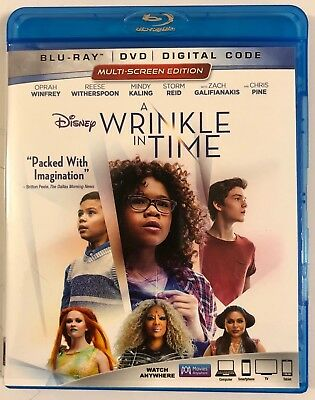 Disney A Wrinkle In Time Blu Ray 1 Disc Only Free World Wide Shipping Buy It Now