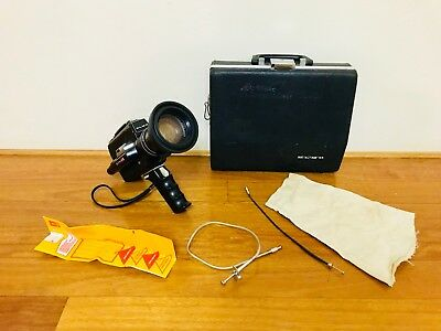Vintage Elmo Super 110 Video Camera Made in Japan