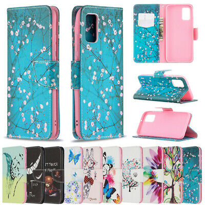 Teeth Wallet Leather Flip Case Cover For Samsung J3 A7 2018 A30 A50 J2 Pro 2018