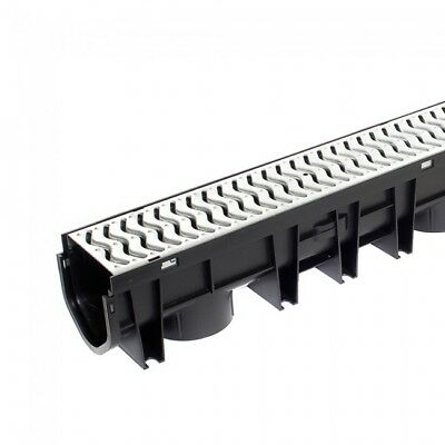 Galvanised Top Domestic Channel Drain x 1 Metre