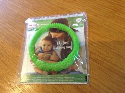 Baby Teething Ring, Panadol, Brand New In Packet **plus A Bonus Sample Gift