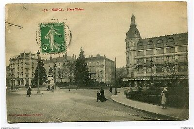 CPA-Carte postale- France - Nancy - Place Thier (CP3301)