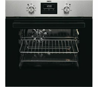 ZANUSSI ZZB35901XA Electric Oven - Stainless Steel - Currys