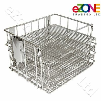 Henny Penny Basket for Gas Pressure Fryer Removable Shelves Stainless Steel
