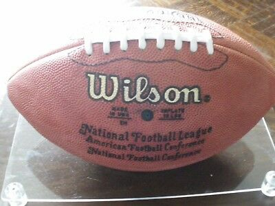 Emmitt Smith autographed NFL ball