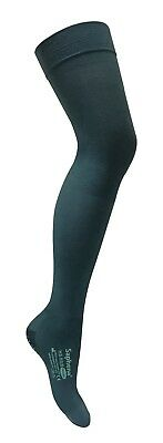 Saphena - Open Toe Compression Thigh High Anti Embolism Stockings with Grips