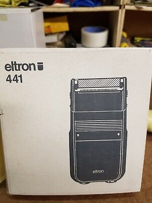 New Eltron cord shaver  made in West Germany model# 441 NOS NIB