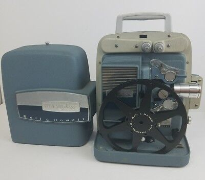 Vintage 50s Bell & Howell 363 Super Auto-Load 8mm Movie Film Projector Excellent