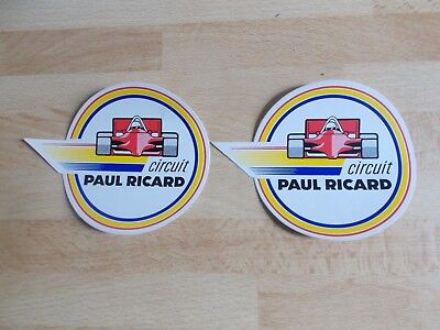 2 autocollants / stickers CIRCUIT PAUL RICARD