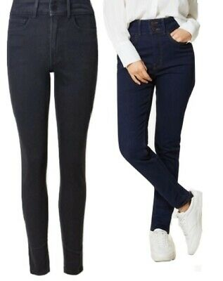 Ex M&s Ladies 1802 Sculpt & Lift Per Una Skinny Leg Jean With Stretch