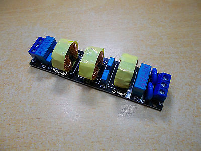 AC DC 3A Three stage EMI RFI Filter